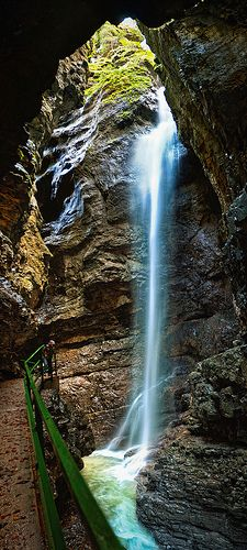 Breitachklamm II - Travel and Extra The Places Youll Go, Places To See, Wonderful Places, Beautiful Places, Photos Voyages, Beautiful Waterfalls, Germany Travel, Nature Photos, Vacation Spots