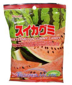 Kasugai Watermelon Gummy Candy Bag Japanese Treats, Soft Candy, Asian Snacks, Favorite Candy, Candy Bags, Hard Candy, Candies, Watermelon, Snack Recipes