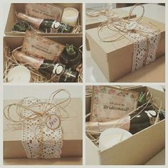 Will you be my bridesmaid 'proposal' boxes made for my bridesmaids. They said yes :)
