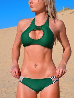 Summer High Neck Low Waist Beach Bikinis Set_________Zorket Provides Only Top Quality Products for Reasonable Prices + FREE SHIPPING Worldwide_________