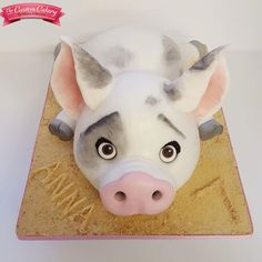 Pua Cake  by www.facebook.com/doncastercustomcakery