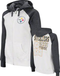 Pittsburgh Steelers Women s Sport Princess Hooded Sweatshirt Green Bay  Packers Merchandise fb81dbddf