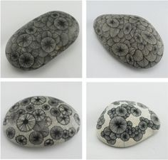bubbles on my planet: drawing stones