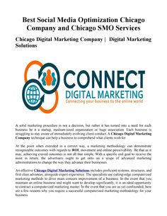 Best social media optimization chicago company and chicago smo services