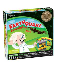 Another great find on #zulily! Earthquake Simulator Set #zulilyfinds