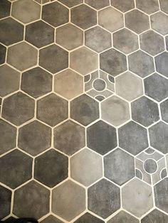 Hexagon Tiles, Tile Floor, Flooring, Hexagons, Contemporary, Crafts, Hollywood, Home Decor, Style
