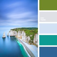 Colours of emerald-blue water relaxes the psyche of a man. This palette almost forces you to meditate and calm down, thats why we recommend this colours fo.