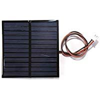 Electronicspices 6v 100ma Mini Solar Panel Wire Attached With Solar For Diy Square Shape 70x70x3 Mm Mini Solar Panel Solar Panel Kits Diy Solar Panel