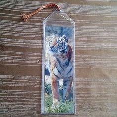 Bengal Tiger Bookmarker by InspiringFotos on Etsy