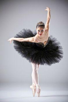 Ballerina Miki Kawamura in costume for Odile from Swan Lake - Principal Dancer Oklahoma City Ballet City Ballet, Ballet Class, Ballet Dancers, Ballerina Poses, Ballet Drawings, Ballet Photos, Dance Poses, Ballet Beautiful, Swan Lake