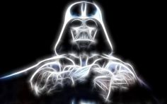 Star Wars Darth Vader Glowing Android Wallpaper