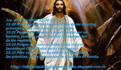 La Biblia La Palabra De Dios Para Hoy: Jesús resucitado imágenes-1-corintios-15-20-23