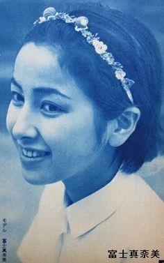 Fuji Manami (冨士眞奈美) 1938-, Japanese Actress, 冨士真奈美