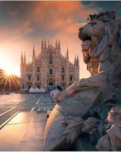 Duomo di Milano (catedral), Milão, Itália #iliveitaly