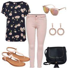 Freizeit Outfits: FlowerPower bei FrauenOutfits.de