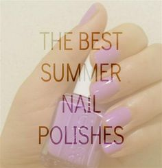 Our must-have summer nail polish picks, from Essie, OPI, Deborah Lippmann and more! #nails #nailpolish #summer #polish #best #beauty http://www.dailypamp.com/post/87612610897/the-best-in-summer-2014-polishes #manimonday