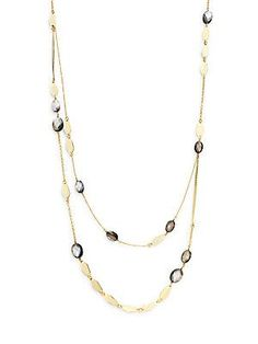 Saks Fifth Avenue Stella + Ruby Layered Waterfall Necklace - Gold - Si