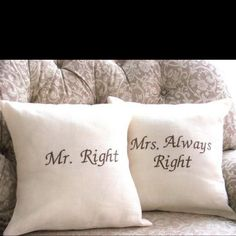Every home needs a pair of these embroidery pillows!