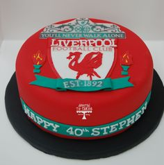 Groom Cake: Liverpool