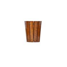 "139 GUSTAV STICKLEY Estimate: $1,000 - $1,500  Add to bid form Wastebasket, Eastwood, NY, ca. 1907 Unmarked 14"" x 11 3/4"". | Rago Auctions Gustav Stickley, Craftsman Furniture, Art Decor, Auction"