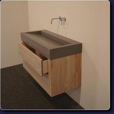 een geweldig badkamermeubel.
