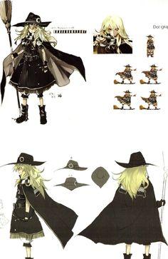 Tags: Touhou, Kirisame Marisa, Scan, Character Sheet, Pixiv, Banpai Akira, Koumajou Densetsu, Frontier Aja, Scarlet - The Legendary Castle