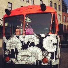 #yearofpattern pop up tour bus