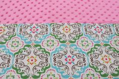Pink Textile KinderMat Nap Mat Cot Cover Daydreamer by YarnkeeDoodle on Etsy