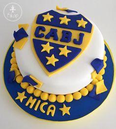 futbol escudo boca junior cake