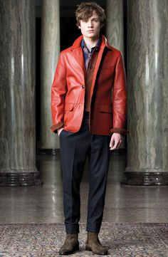 Trussardi Fall 2016 Menswear Fashion Show
