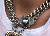 our best-selling necklace!!! streetwear with vintage flair! our rebelvintage heart locket with crown crest plaque shows your passion for fashion...