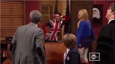 """""""Oh hello USA..."""" """"Stay away from my daughter."""" """"Gotta save the queen-"""""""
