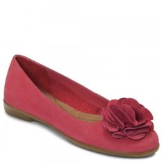 Aerosoles Beccentric Pink Nubuck, Flat shoe for teen women; a dressy shoe in pink color by Aerosoles at $69.00