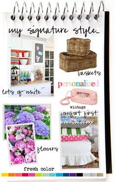 Craft room tour showing many affordable ideas on how to decorate and organize your work space | In My Own Style