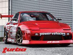 BN Sports/Powervehicle's 1993 Nissan 180 SX Drift Spec - Turbo and High-Tech Performance Magazine Nissan 180sx, Japan Cars, Car Stuff, Bikers, Jdm, Dream Cars, Dragon Ball, Bunny, Pink