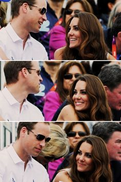 Will and Kate She adores him.