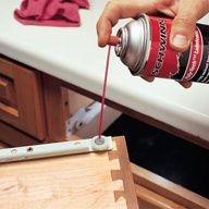 How to loosen sticking drawers