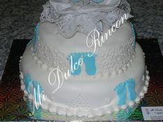 decoracion de tortas para bautismo con fondant - Buscar con Google