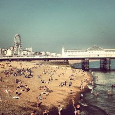 Brighton Beach, UK.