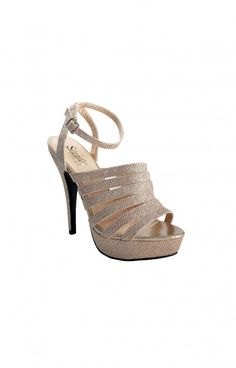 Coloriffics 908 Military Ball, Prom Shoes, Just In Case, Nude, Sandals, Heels, Fashion, Heel, Moda