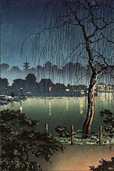 "Japanese Art Print ""Ueno Park"" by Tsuchiya Koitsu. Shin Hanga and Art Reproductions http://www.amazon.com/dp/B00XWRFUAI/ref=cm_sw_r_pi_dp_lfWvwb0KY877E"