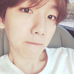 Byun Baek Hyun.  IG  Update