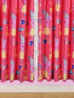 Peppa Pig Funfair Curtains