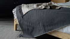 Linen and Merino Lambswool Throws | Natural Bed Company