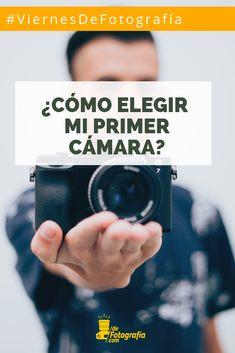 Cuando queremos empezar a aprender fotografía e incluso si queremos cambiar de cámara. Por lo regular, siempre surgen las mismas preguntas…¿Cómo debo elegir mi primer cámara? ¿Cuál es la mejor cámara? ¿Con qué cámara debo iniciar? ¿Cuál es la mejor cámara para aprender fotografía?, entre otras.  Al igual que la primera vez… tu primer cámara debe ser algo especial, algo único e íntimo, debes crear una conexión especial con ella. Blog Fotografia, Beginner Photography, Types Of Photography, Learn Photography, First Time, Create, Get Well Soon, Tips