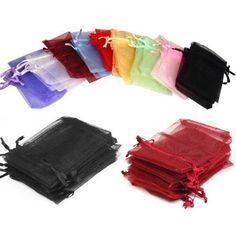Organza Wedding Party Favor Decoration Gift Candy Sheer Bags Pouches in Home & Garden, Wedding Supplies, Wedding Favors | eBay