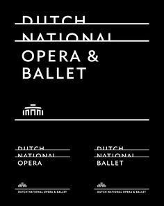 Reviewed: New Logo and Identity for Dutch National Opera Ballet by Lesley Moore