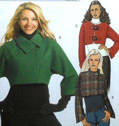 Veste patron de couture non-cut Butterick B5089 tailles 8-14