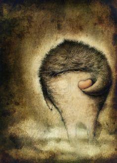 Ilustração da artista Anuk