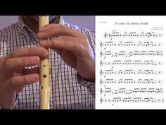 El otoño de A. Vivaldi para flauta dulce - YouTube The Creator, Youtube, It Works, Flute, Sheet Music, Sweets, Youtubers, Nailed It, Youtube Movies